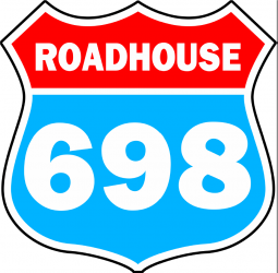 698 roadhouse logo image