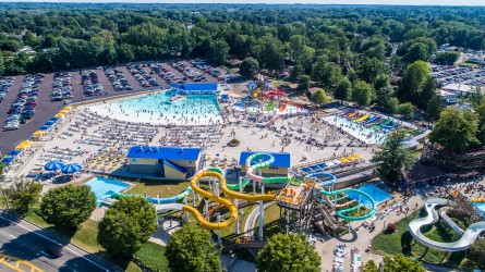 Wave pool Kidz Zone Battle