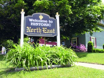 Welcome NE Sign