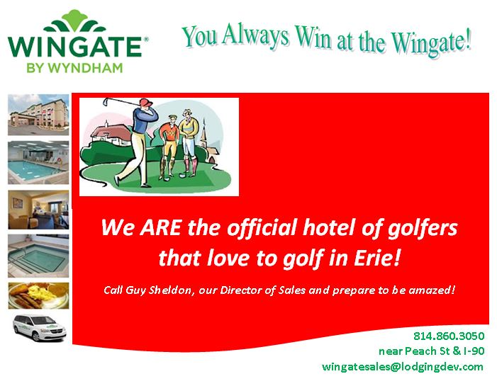 wingate golf post